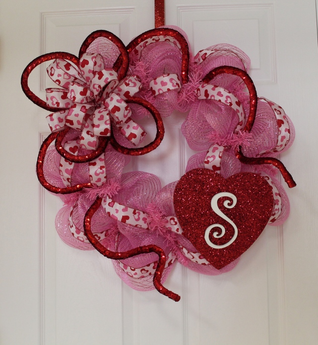 valentine wreaths for your front doorDIY Deco Mesh Valentine Wreath Make it Personal  The Wreath Depot