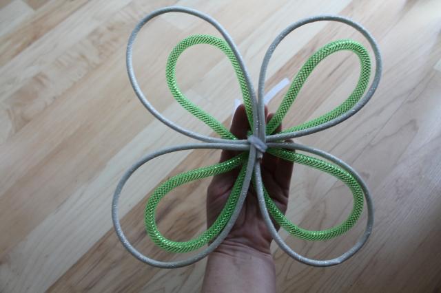 Create Unique Ribbons For St. Patricks Wreath